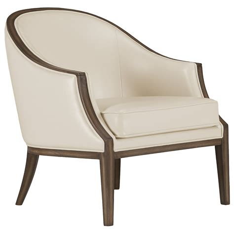 Furniture Accent Chair by City Furniture Kensie Lt Beige Bonded Leather Accent Chair