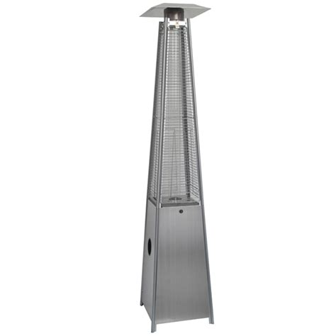Pyramid Patio Heaters by Stainless Steel Modern Pyramid Outdoor Patio Heater