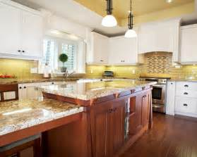 Yellow Kitchen Backsplash Ideas yellow tile backsplash home design ideas pictures remodel and decor