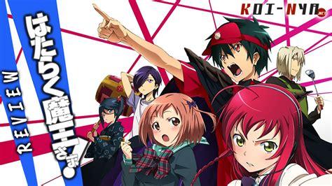review anime hataraku maou sama review hataraku maou sama koi nya net