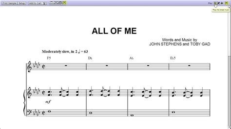 tutorial piano john legend all of me john legend s all of me piano sheet music teaser youtube