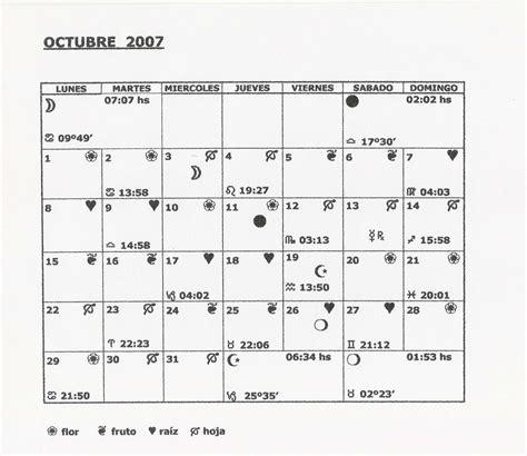 Calendario Octubre 2007 Calendario Lunar Octubre 2007 En Hemisferio Sur Foro De