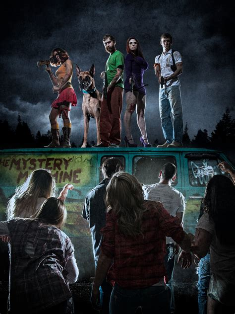 film seri walking dead real life scooby doo and gang take on the zombie apocalypse