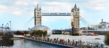 thames river events london plans floating walkway on river thames costing 163 60m