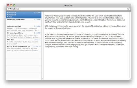 horizontal layout word mac notational velocity update horizontal layout tag sync