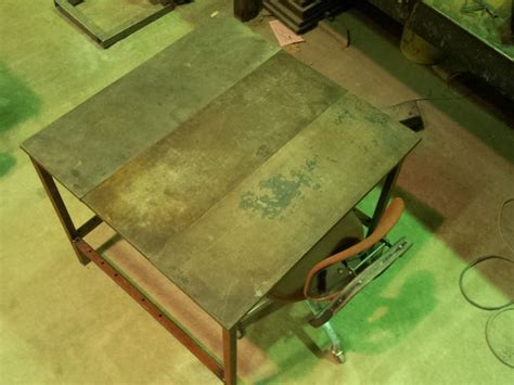 How To Make A Welding Table 10 Steps With Pictures How To Build A Welding Table