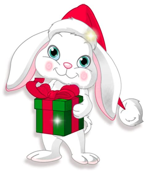 Pp Bunny transparent bunny with gift clipart gallery