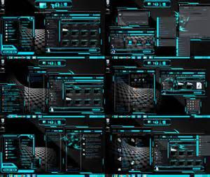 computer interface themes theme blue xux ek by tono3022 on deviantart
