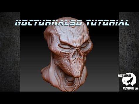 zbrush wacom tutorial zombie alien zbrush sculpt tutorial using wacom cintiq