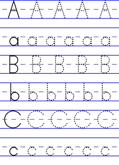 printable tracing writing paper tracing alphabet abc kiddo shelter