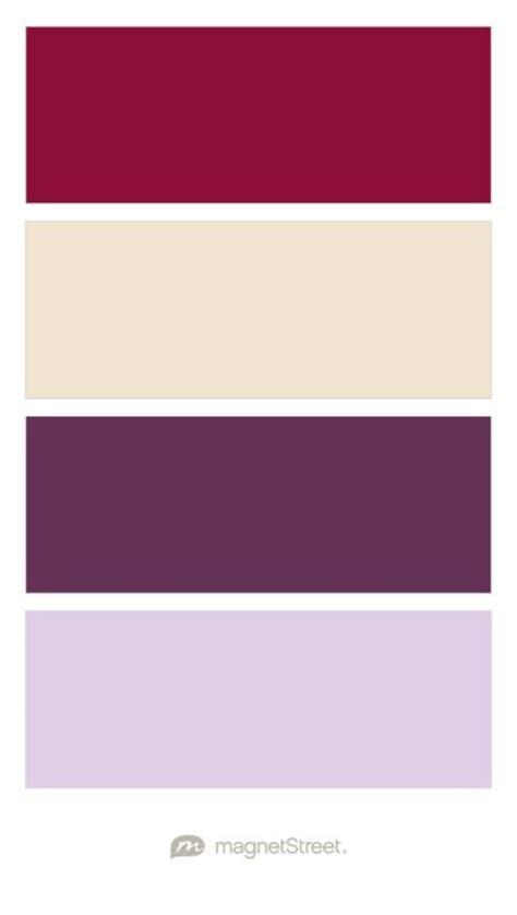 burgundy color palette burgundy chagne eggplant and lavender wedding color