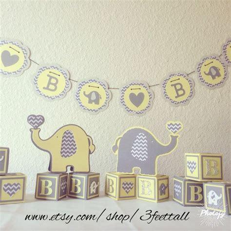elephant baby shower decoration package gender neutral