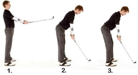Golf Swing Posture Drills anti method golf correct posture prevents injury anti method golf