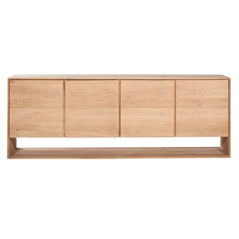 Oak Sideboard Uk contemporary interiors large nordic oak sideboard ethnicraft