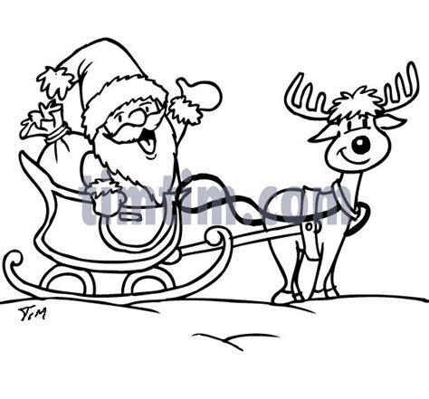 sleigh and reindeer flying coloring pages coloring pages