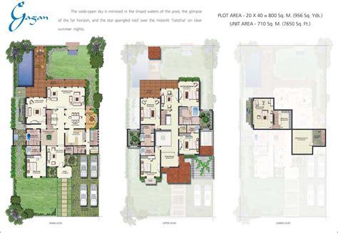 modern villa floor plan vipul tatvam villas gurgaon residential projects in