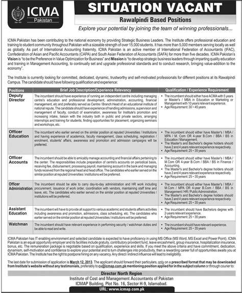 Mba Executive In Rawalpindi by Icma In Rawalpindi 2013 Icma Pakistan Icmap In