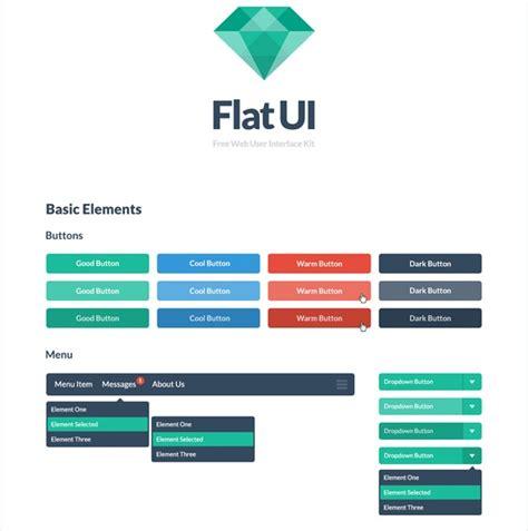 tutorial bootstrap flat design flat ui psd and html bootstrap design framework