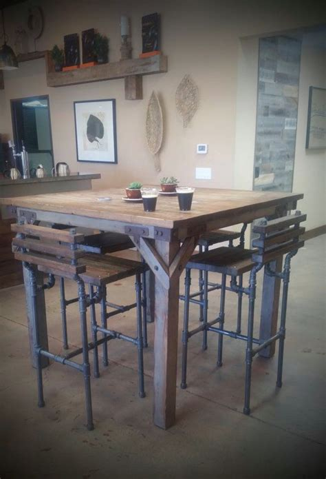 industrial style pub table 17 best ideas about pub tables on barrel