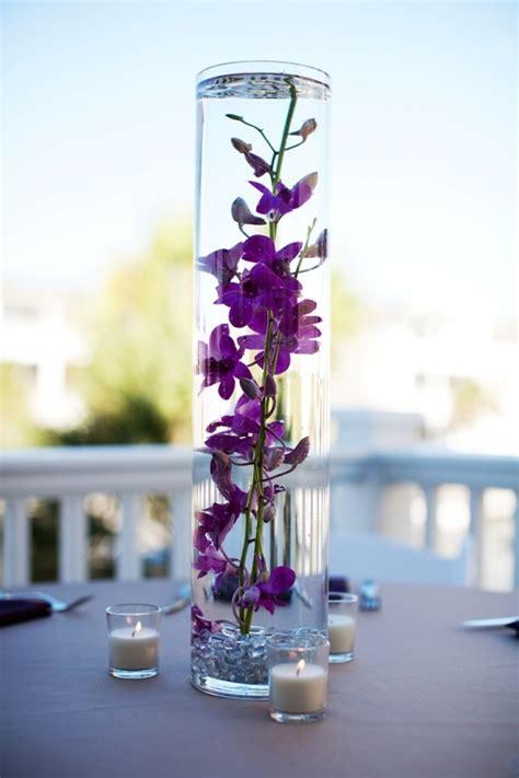 water centerpiece flowers in water beautiful centerpiece nea wedding 11