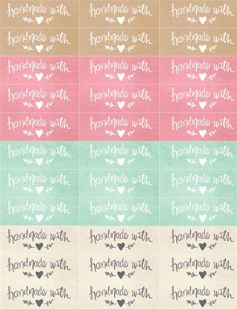 free printable handmade holidays gift tags imagine gnats handmade packaging labels diy 태그