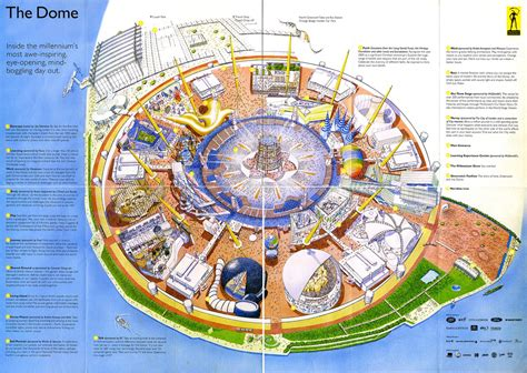 dome map millennium dome map this is a map of the insides of the