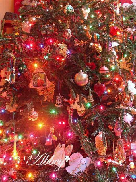 christmas ornaments index cards and memories iris abbey