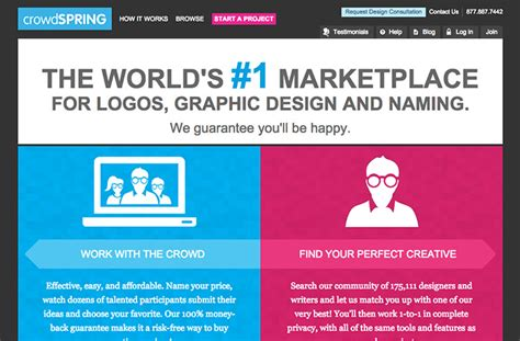designcrowd freelance job 50 freelance job sites for designers programmers best