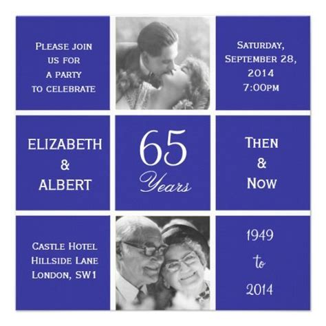65th wedding anniversary invitations 1000 images about 65th anniversary n on