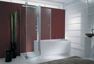 Bath And Shower Units Combined Tub Shower Combo From Genesi The Tandem Combo For Two