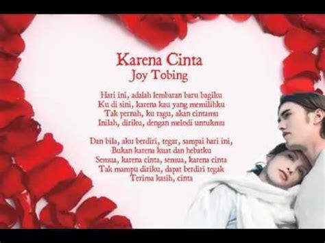 Download Mp3 Gratis Joy Tobing Karena Cinta | 5 88 mb free lagu terima kasih cinta joy tobing mp3