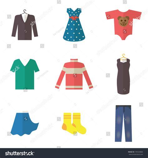 clothes design vector man woman baby clothing set clothes stock vector 199320860