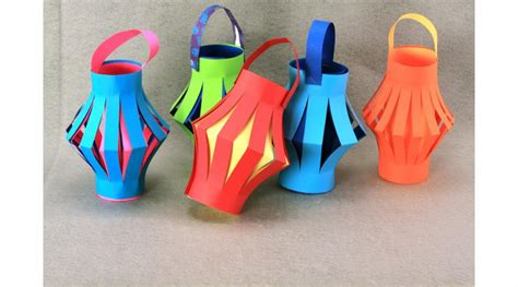 How To Make Lanterns From Paper - paper lanterns