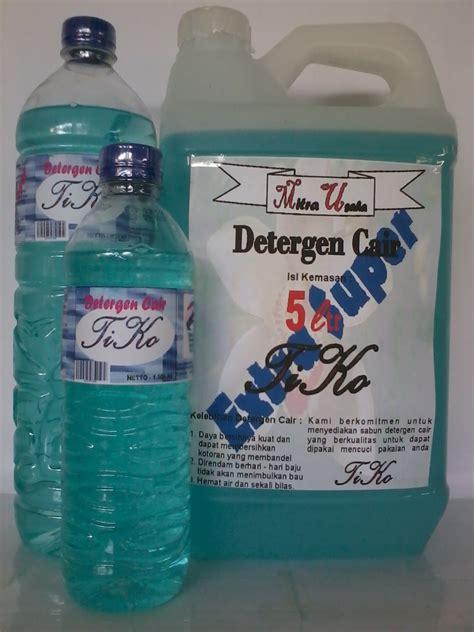 Detergen Cair Mawar 1 Liter sabun cair detergen tiko