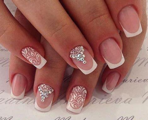 imagenes de uñas bonitas con piedras decoracion de u 241 as con piedras para boda