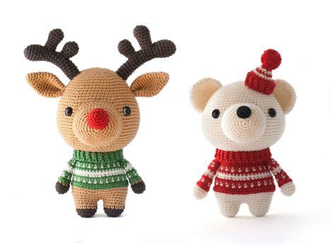 amigurumi pattern christmas toy patterns by diy fluffies christmas amigurumi