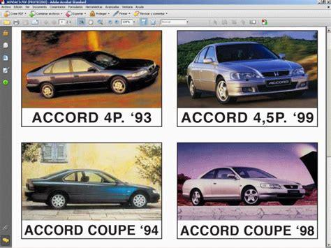 Honda Accord Manual De Taller