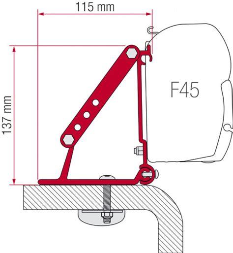 fiamma f45 awning mounting brackets fiamma awning kit roof adapter bracket