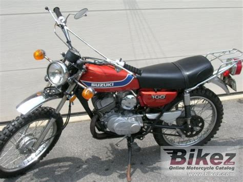 Suzuki Blazer Suzuki Tc 100 K Blazer