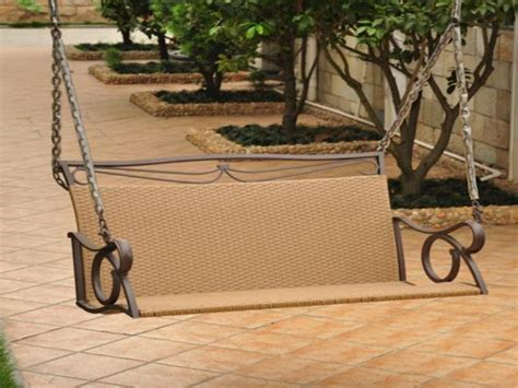 hanging patio swing hanging porch swing a good spot to enjoying your rest
