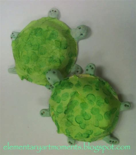How To Make A Paper Mache Turtle - moments adaptive paper mache turtles