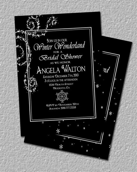 winter themed wedding shower invitations 87 best images about winter theme bridal shower on snowflakes invitations and