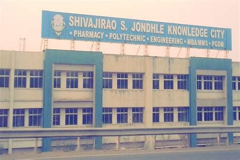 Mba Colleges In Thane District by Shivajirao S Jondhle College Of Engineering And