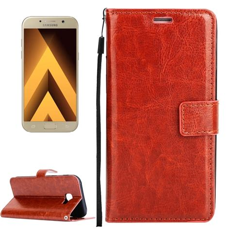 Flip Leather Galaxy A3 2017 A320 for samsung galaxy a3 2017 a320 texture horizontal flip pu leather with