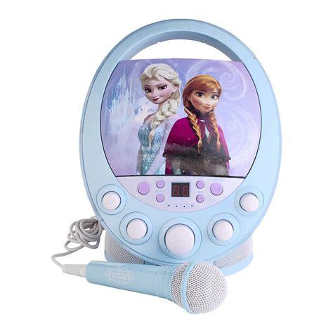 Microphone Frozen Single Bestseller sakar frozen cdg karaoke machine