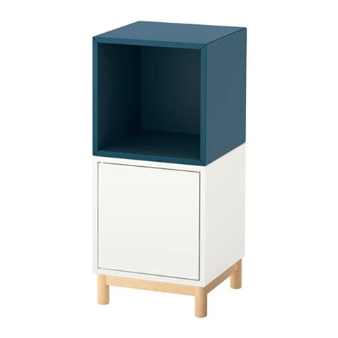 Shelf With Legs by Eket Storage Combination With Legs White Blue