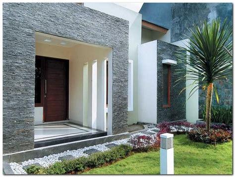 model desain teras rumah modern terbaru portal bangunan