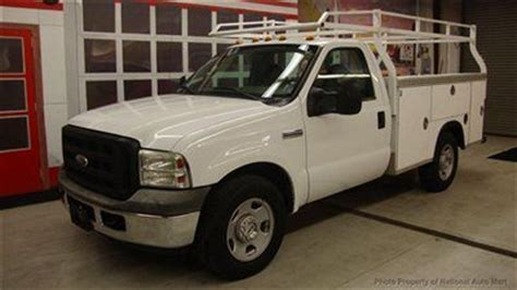 how does cars work 2006 ford f 350 super duty parking system sell used in az 2006 ford f 350 xl utility work truck 9 royal body ladder rack 1 owner in