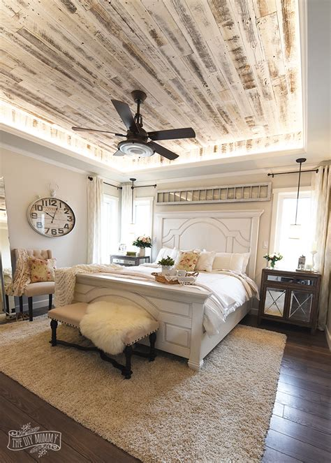 How To Decorate A Bedroom In Country Style by Modern Country Farmhouse Master Bedroom Design