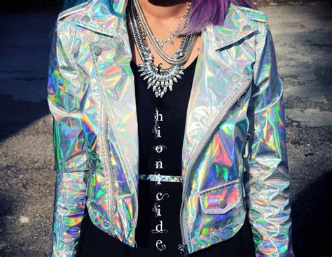 Outfits the holographic jacket fashionicide fashion with a